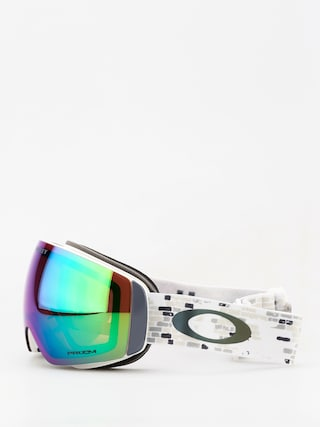 Oakley Flight Deck Xm Goggles (lv sig snowed in stealth/prizm snow jade iridium)