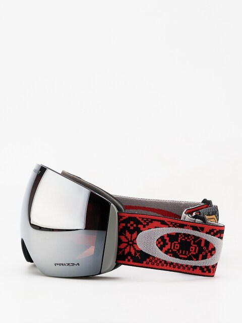Oakley Flight Deck Goggles (shred bots iron rose/prizm snow black iridium)