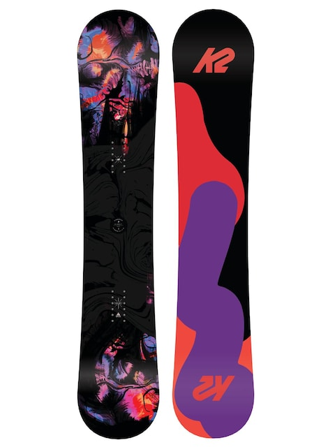K2 Snowboard First Lite Wmn (black/orange/pink)
