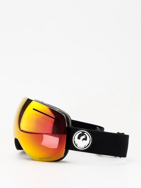 Dragon X1 Goggle (black/lumalens red ion/lumalens rose)