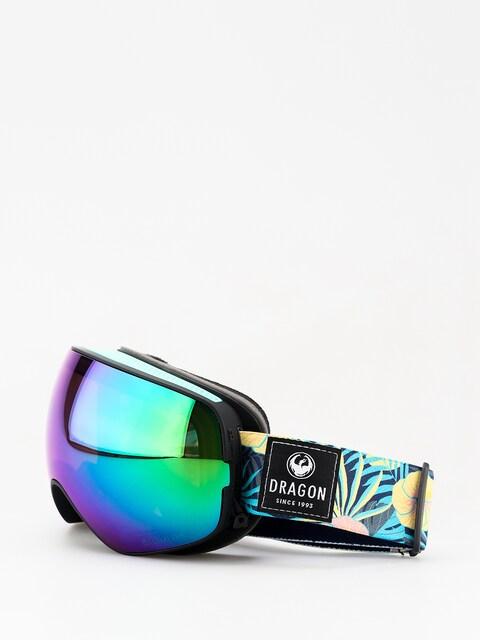 Dragon X2s Goggles (aloha/lumalens green ion/lumalens amber)