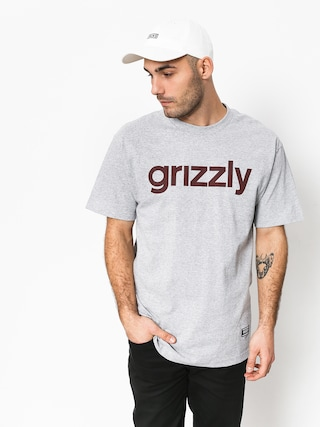 Grizzly Griptape Lowercase Tee T-shirt (grey)