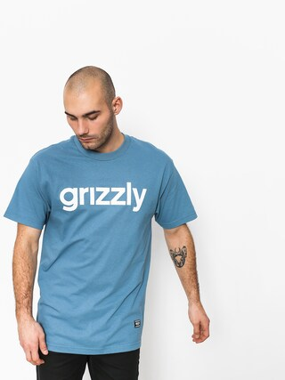 Grizzly Griptape Lowercase Tee T-shirt (royal)
