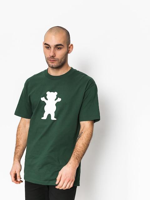 Grizzly Griptape Og Bear Basic Tee T-shirt (green)