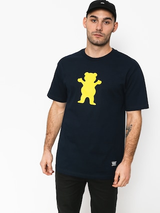 Grizzly Griptape Og Bear Basic Tee T-shirt (navy)