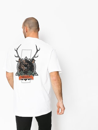 Grizzly Griptape Fear The Deer T-Shirt (white)
