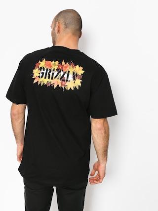 Grizzly Griptape Seasonal Stamp T-shirt (black)