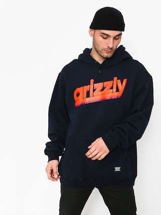 Grizzly Griptape Fast Times HD Hoodie (navy)