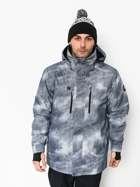 Quiksilver Mission Pr Snowboard jacket (simple texture grey)