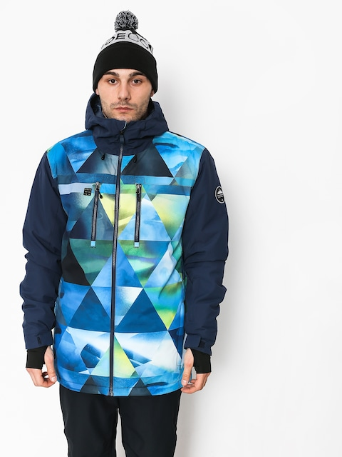 Quiksilver Mission Blck Snowboard jacket (stretch the un green)
