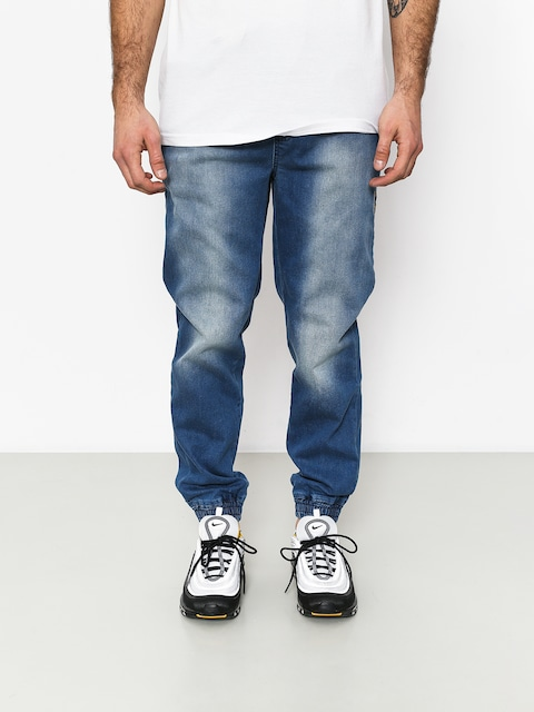 Stoprocent Classic Jeans Joggers Pants (blue)