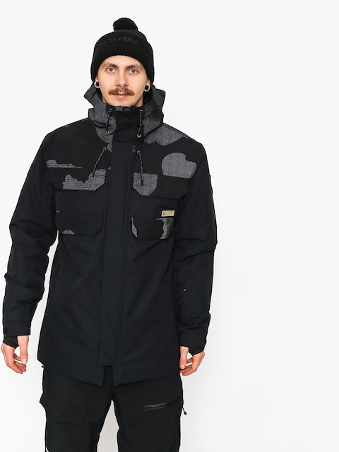 DC Haven Snowboard jacket (blk reflective camo)