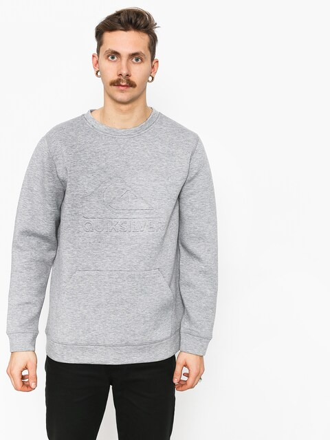 Quiksilver Freedom Crew Active sweatshirt (grey heather)