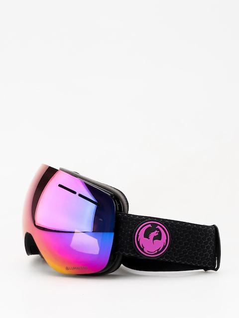 Dragon X1s Goggles (split/lumalens purple ion/lumalens amber)