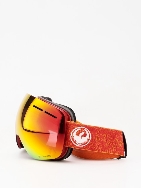 Dragon X1s Goggles (maze/lumalens red ion/lumalens rose)