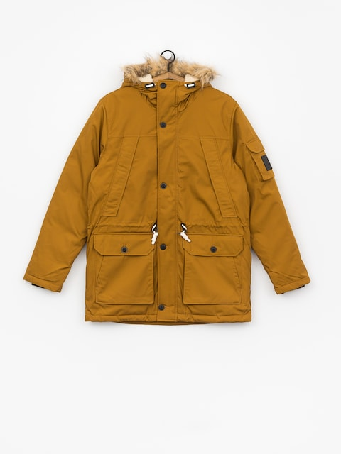Element Explorer Down Parka Jacket (gold brown)