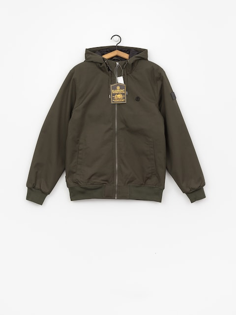 Element Dulcey Wax Jacket (olive drab)