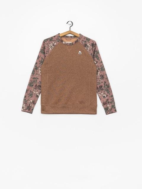 Burton Oak Crew Sweatshirt Wmn (brwnie/flrlcm)