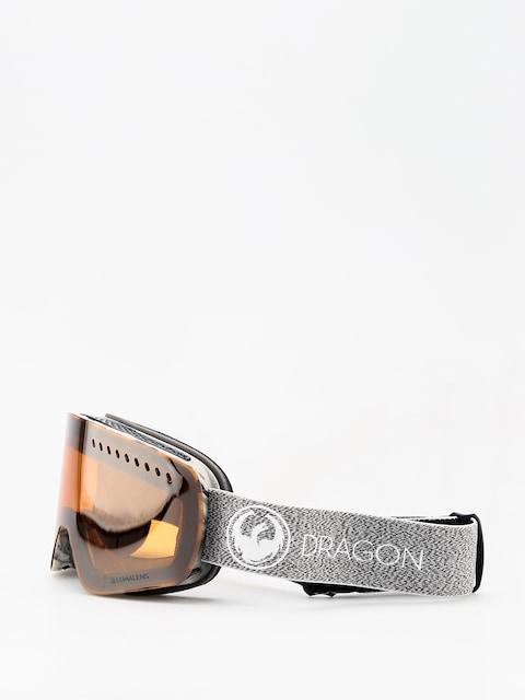 Dragon NFXs Goggles (mill lumalens silver ion/dark smoke)
