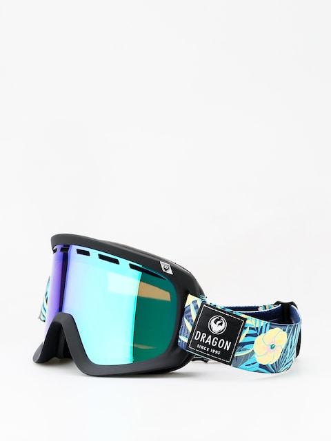 Dragon D1 Goggles (aloha/lumalens green ion/lumalens amber)