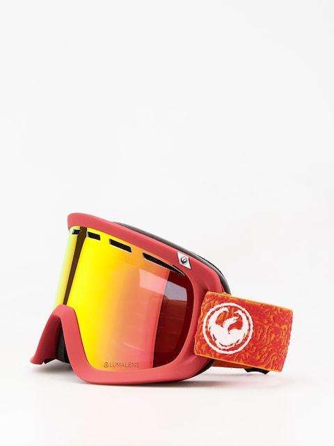 Dragon D1 Goggles (maze/lumalens red ion/lumalens rose)