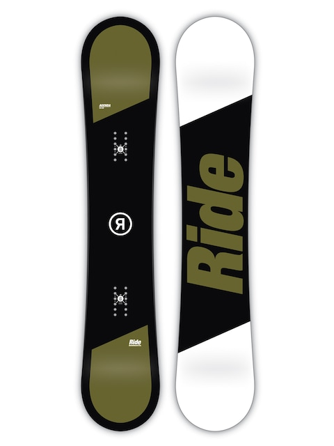 Ride Snowboard Agenda (black/green/white)