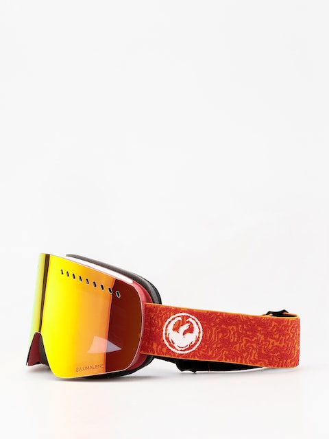 Dragon NFXs Goggles (maze/lumalens red ion/lumalens rose)