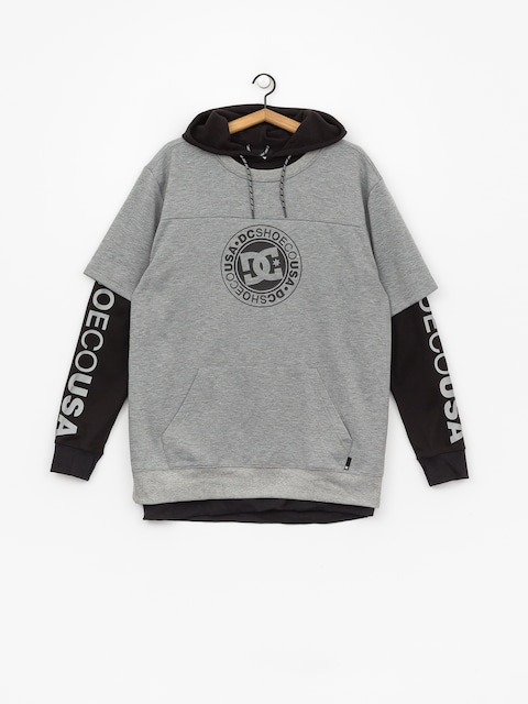 DC Dryden Active sweatshirt (neutral gray heather)