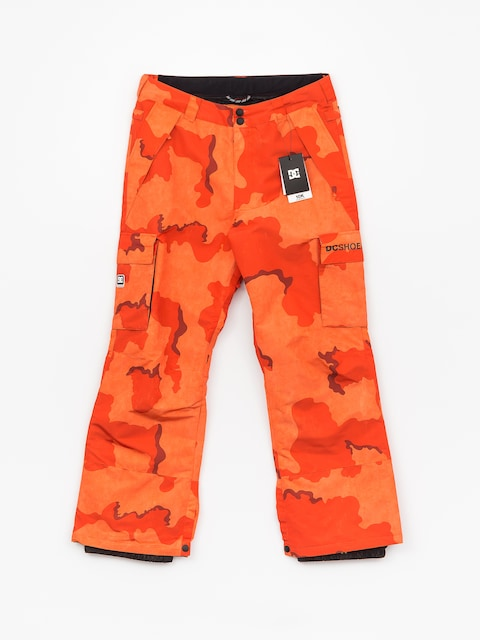 DC Banshee Snowboard pants (red orange dcu camo)
