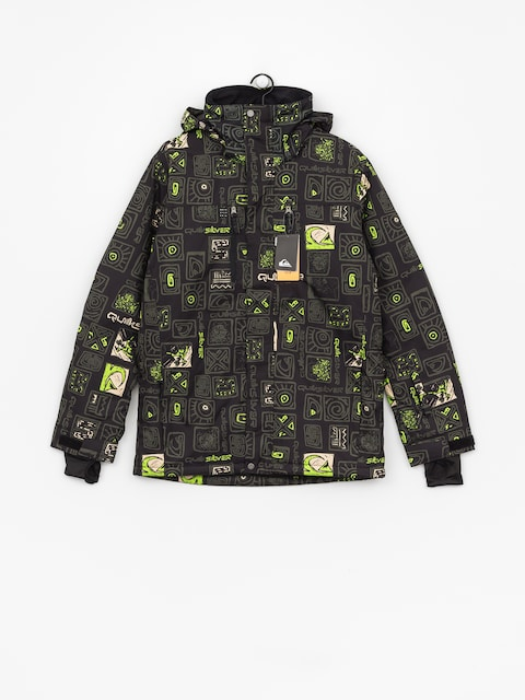 Quiksilver Mission Pr Snowboard jacket (kawena grape leaf)
