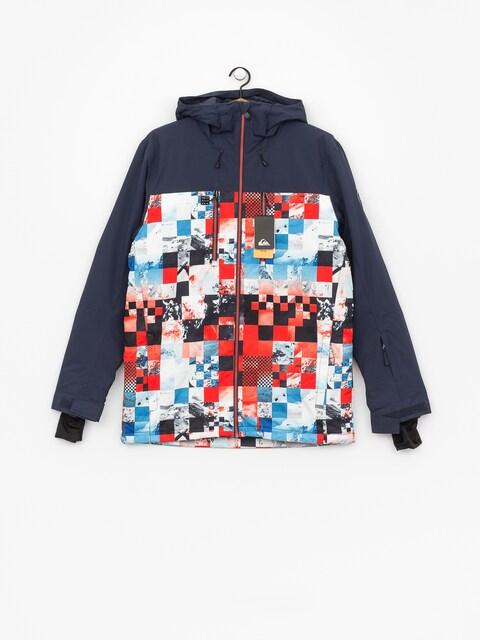 Quiksilver Mission Blck Snowboard jacket (money time flame)