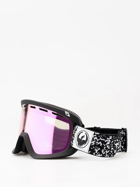 Dragon D1 Goggles (scribe/lumalens pink ion/dark smoke)