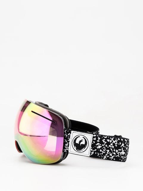 Dragon X1 Goggles (scribe/lumalens pink ion/dark smoke)