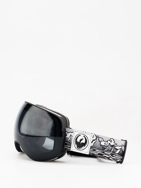Dragon X2 Goggles (iguchi sig/dark smoke/lumalens rose)