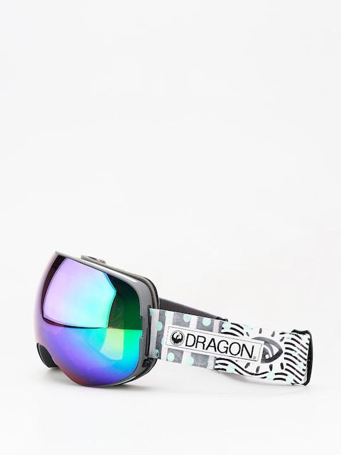 Dragon X2 Goggles (new wave/lumalens green ion/lumalens amber)