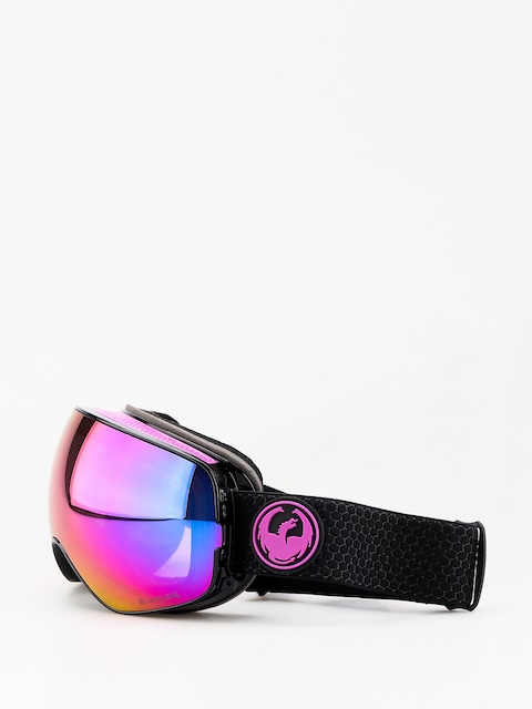 Dragon X2s Goggles (split/lumalens purple ion/lumalens amber)