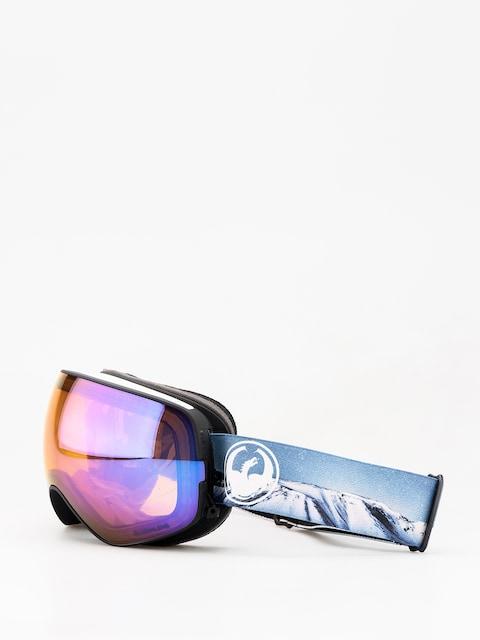 Dragon X2s Goggles (realm/lumalens blue ion/lumalens amber)