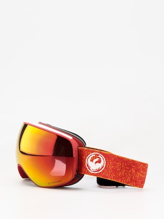 Dragon X2s Goggles (maze/lumalens red ion/lumalens rose)