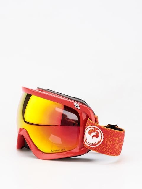 Dragon D3 Goggles (maze/lumalens red ion/lumalens rose)