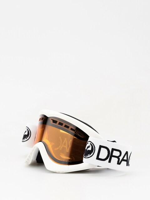 Dragon Goggles DXS (white/lumalens amber)