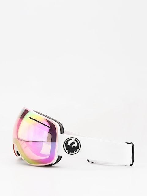 Dragon X1 Goggles (white/lumalens pink ion/dark smoke)