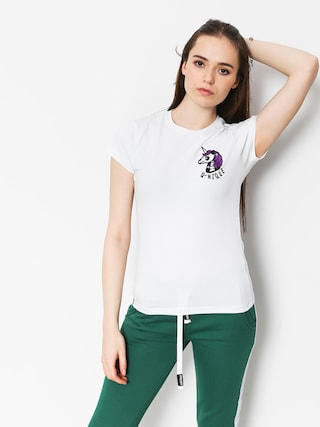 Stoprocent Unicorn T-shirt Wmn (white)