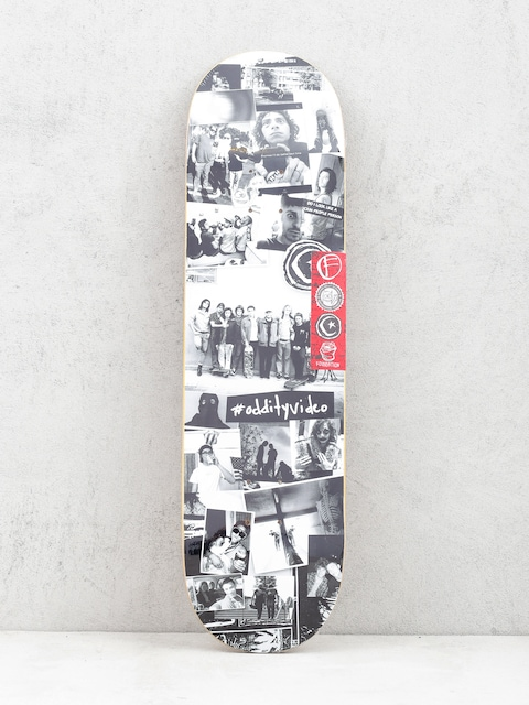 Foundation Oddity Collage Deck (black/white)