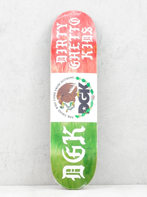 DGK Coat Of Arms Deck (green/white/red)