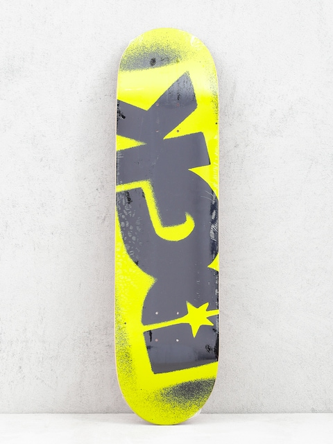 DGK Fluorescent Logo Deck (yellow)