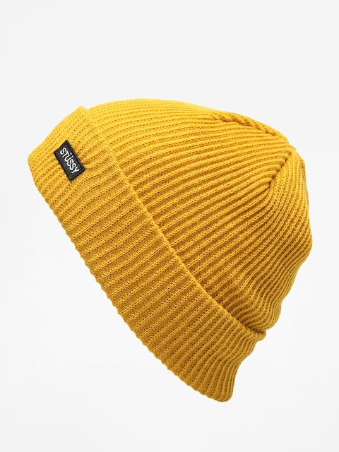 Stussy Small Patch Watch Beanie (mustard)