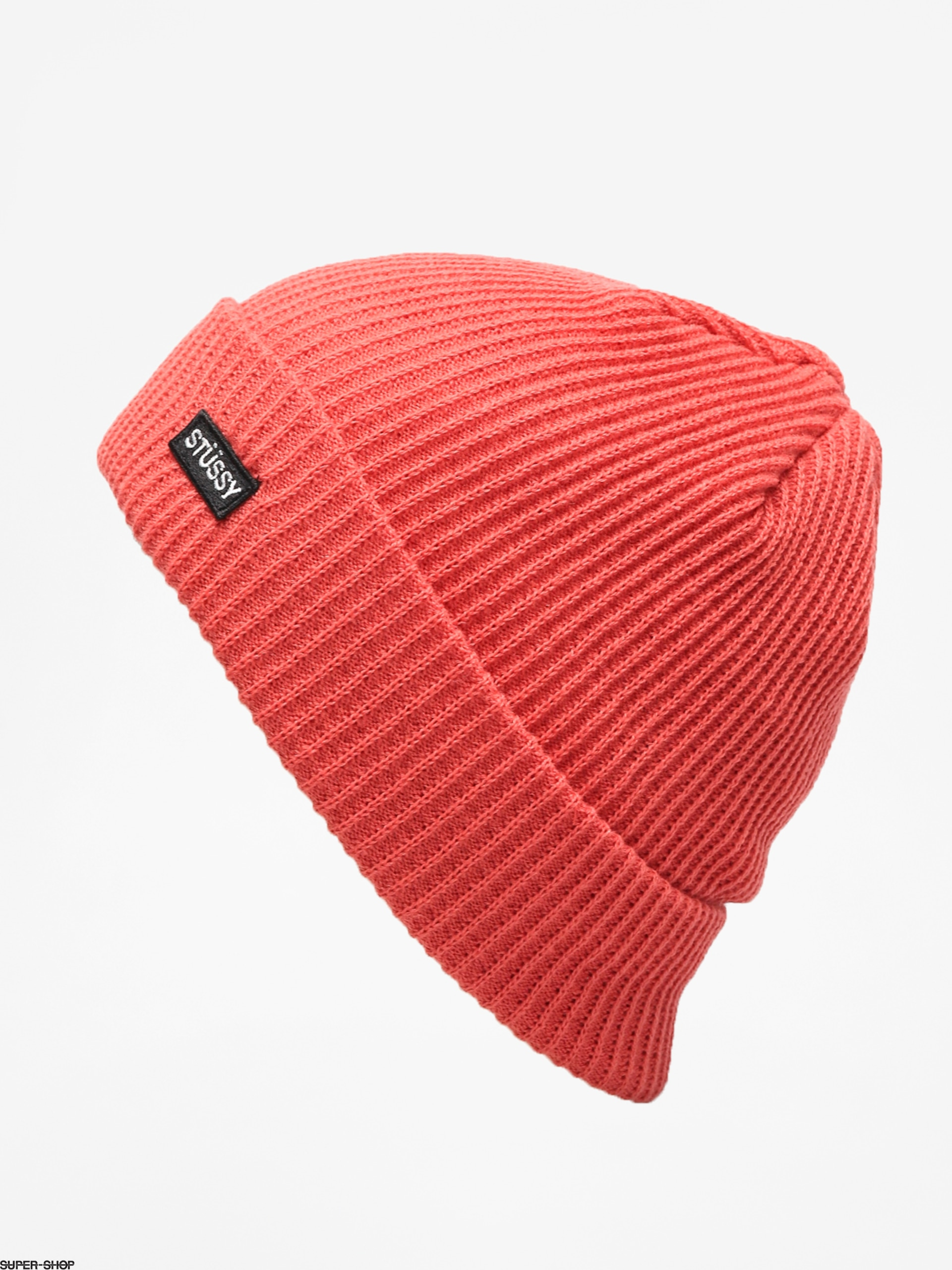 82391092a Stussy Small Patch Watch Beanie (rose)
