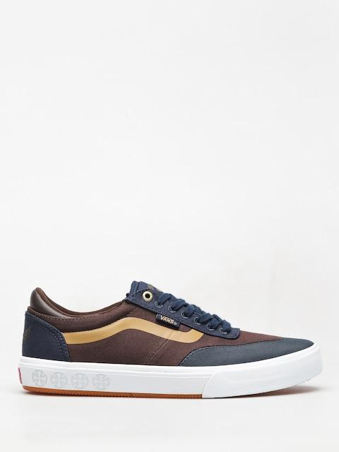 Vans Gilbert Crockett Shoes (independet dress blues/demitasse)