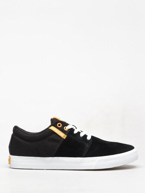 Supra Stacks Vulc II Shoes (black/golden white)