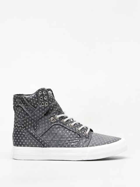Supra Skytop Shoes Wmn (dark grey polka dot white)